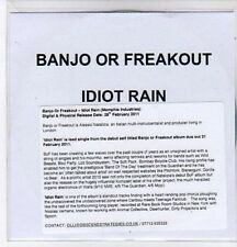 (BQ216) Banjo Or Freakout, Idiot Rain - 2011 DJ CD
