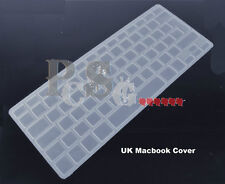 """15"""" CLEAR UK MACBOOK/ PRO LAPTOP KEYBOARD COVER PROTECTOR"""