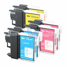 6 COLOR LC61 Ink for Brother MFC-J630W MFC-J615W MFC-J415W MFC-J410W MFC-J270W