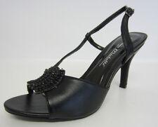 Anne Michelle L3415 Ladies Black Sling-Back Shoes UK Sizes 3 - 8 (R22E)