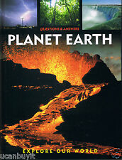 PLANET EARTH Explore Our World Children's Reference Hardback Book Grade 1+