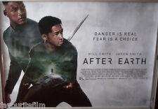 Cinema Poster: AFTER EARTH 2013 (Quad) Jaden Smith Will Smith Sophie Okonedo