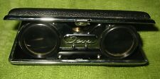Vintage Dove Folding Black Case Opera Glasses