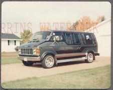 Vintage Photo 1987 Dodge Van 760690