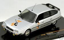 1/43 IXO CLC 128 Citroen CX Pallas berlina silver metallic Roland Garros 1985