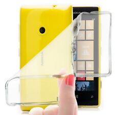 Slim Silikon Case für Nokia Lumia 520 Schutz Hülle Handy Tasche Cover Bumper