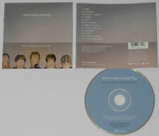 Matchbox Twenty - More Than You Think You Are - U.S. Gold Stamp Promo CD