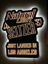 New Natural Light Seltzer Just Landed in Los Angeles Led Beer Sign Bar Light Pub