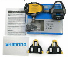 Shimano PD-R7000 105 SPD-SL Carbon Road Bike Pedals with cleats- Brand new