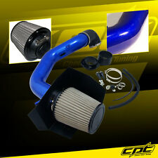 04-08 Ford F150 F-150 5.4L V8 Blue Cold Air Intake + Stainless Steel Air Filter