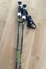 """Leki Ski Poles Speed S 14T-120cm-48""""..Trigger S straps INCLUDED!"""
