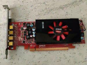 AMD FirePro W4100 2GB GDDR5 4x Mini-DP PCIe Graphics Card standard profile PCIE