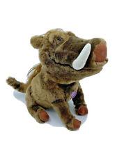 Disney Lion King Pumba stuffed talking toy warthog