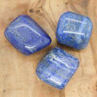 3 x XL Lapis Lazuli Tumblestones Crystal 87-112g Wholesale *CHOOSE YOUR OWN SET*