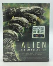 Alien 6-Film Collection (Blu-ray+Digital, 2017; 6-Disc Set) NEW