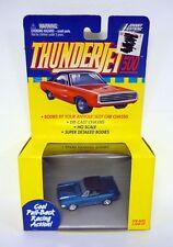JOHNNY rayo trueno JET 500 COCHE RANURA Ford Mustand Azul MISB COMPLETO 1999