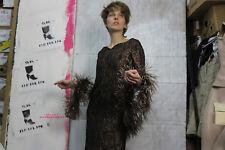 Partykleid Brokatkleid Damen Kleid kupfer schwarz 60er TRUEVINTAGE 60s glitter