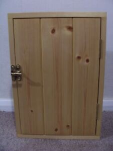 Small Handmade Wooden Cupboard/Cabinet with handmade dovetailed joints