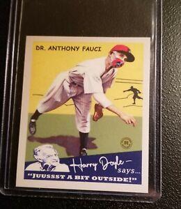 ANTHONY FAUCI 1934 GOUDEY STYLE HARRY DOYLE SAYS ACEO ART BASEBALL CARD /50