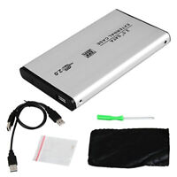 AM_ USB 2.0 SATA Case 2.5 Inch Mobile External Hard Disk Drive HDD Enclosure