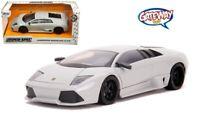 1/24 Jada HYPER-SPEC Lamborghini Murcielago LP 640 Diecast Light Grey 32274