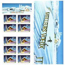 Bande Carnet BC3534A / BC34 - Meilleurs vœux (Chalet, neige) - 2002