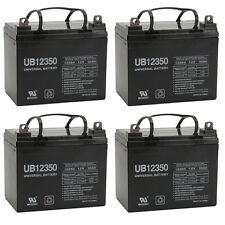 UPG 4 Pack - 12V 35AH Power Wheelchair Battery Replaces 40ah Tempest TR40-12