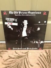 Sid Vicious Experience Jack Boots WHITE VINYL Numbered #175  Sex Pistols Damned