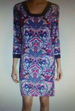 Laundry by Shelli Segal-  Print Square Neck Dress - Retail $138