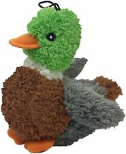 "MULTIPET - Look Who's Talking Duck Dog Toy - 5"" Long"