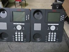 Lot of 2 Avaya 9630 IP VOIP Office Business Telephone No handset