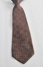 POLO RALPH LAUREN Multi-Color 100% Silk 60 Inches Long Geometric Men's Necktie