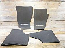 Dodge Nitro Autoteppich Fußmatten  schwarz Velour 4teilig