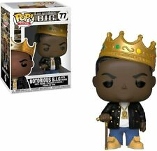 Funko Pop Rocks: The Notorious B.I.G. Notorious B.I.G. with Crown 31550 New