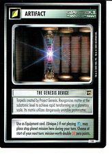 STAR TREK CCG THE MOTION PICTURES RARE CARD THE GENESIS DEVICE