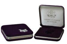US Mint Presentation Gift Display Case For 1/4 oz Platinum American Eagle Coin