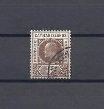 CAYMAN ISLANDS 1905 SG 11 USED Cat £40