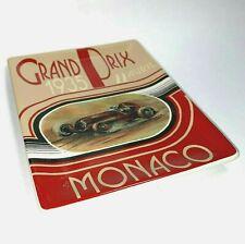 Grand Prix  by Square One Formula 1 Racing Decorative Ceramic Plate Monaco 1935