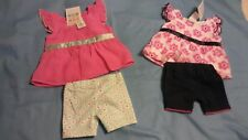 Healthtex Baby Two Piece Outfit Flower Shirt With Pink  Size Newborn