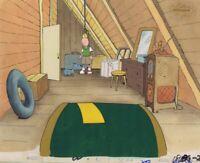 DOUG FUNNIE Original Production Cel Cell Animation 1990's Nickelodeon Attic