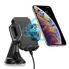 Fast Wireless Car Charger Mount, 7.5W Compatible Apple IPhone Charge Qi-Enabled