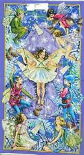 Country Patchwork Quilting Fabric ENCHANTED FAIRY PURPLE Sewing Panel 60×110 cm