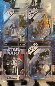 2007 Star Wars 30th Anniversary McQuarrie Concept Lot Of 4 501st Action Figure