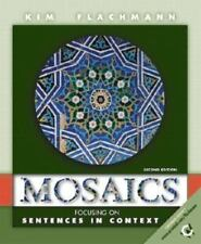 Mosaics: Focusing on Sentences in Context (2nd Edition)