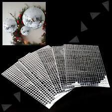 5 x 600pcs Glitter Grout Silver Additive Premium Glass Mosaic Tiles Xmas Decor