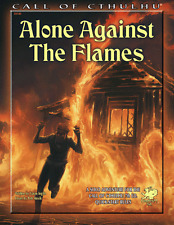 Call of Cthulhu RPG 7th edition Alone Against the Flames Solo Adventure