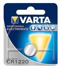 Varta 1x CR1220 Lithium Battery 3V 35mAh VARTA-CR1220