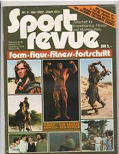 Sport Revue bodybuilding magazine/ Arnold Schwarzenegger CONAN German 5-82