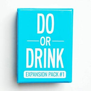 Do Or Drink Card Game  Expansion   -blue