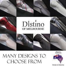 Men's Neck Tie Slim or Classic - Wedding Necktie Silk or Polyester Mens Ties